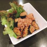 豚肉とナスの味噌生姜炒め♪♬♫